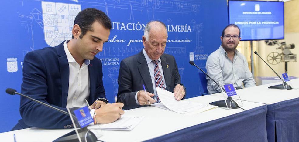 Diputación y Ayuntamiento de Almería firman un convenio para impulsar el Museo Doña Pakyta y el 'Espacio 2'
