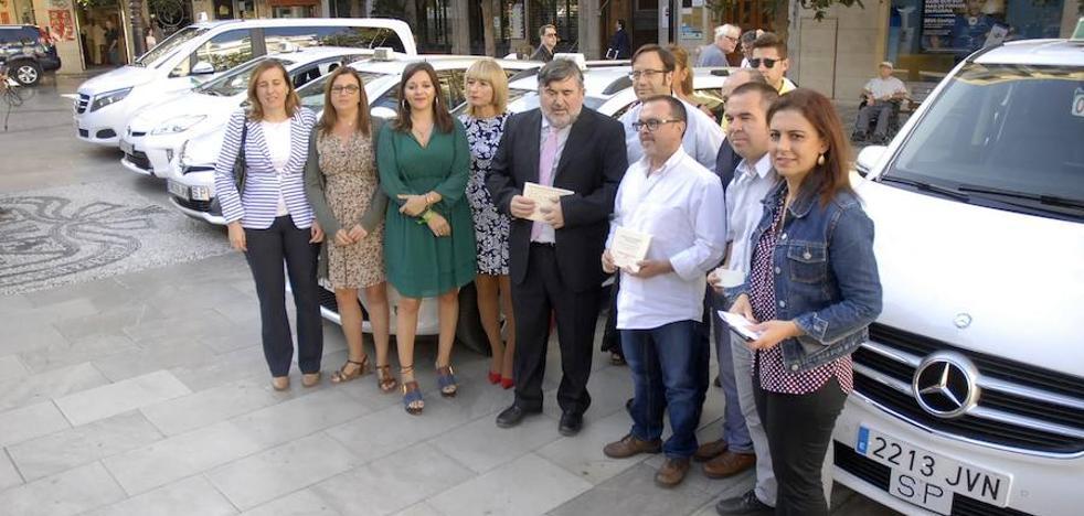 Granada estrena taxímetros parlantes