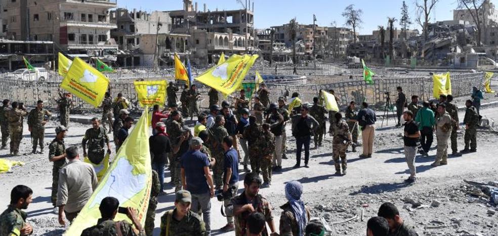 El Dáesh pierde Raqa, su principal bastión en Siria