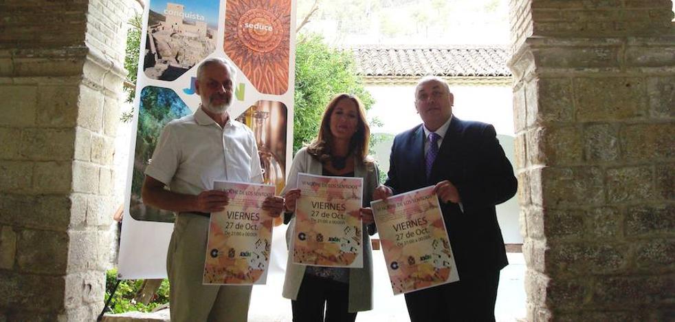 La VI Noche de los Sentidos aunará el 27 de octubre patrimonio, música y productos de la provincia de Jaén