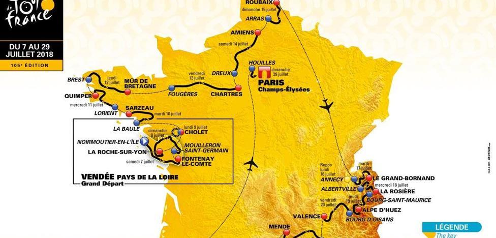 El Tour apuesta por los adoquines e innova en las montañas