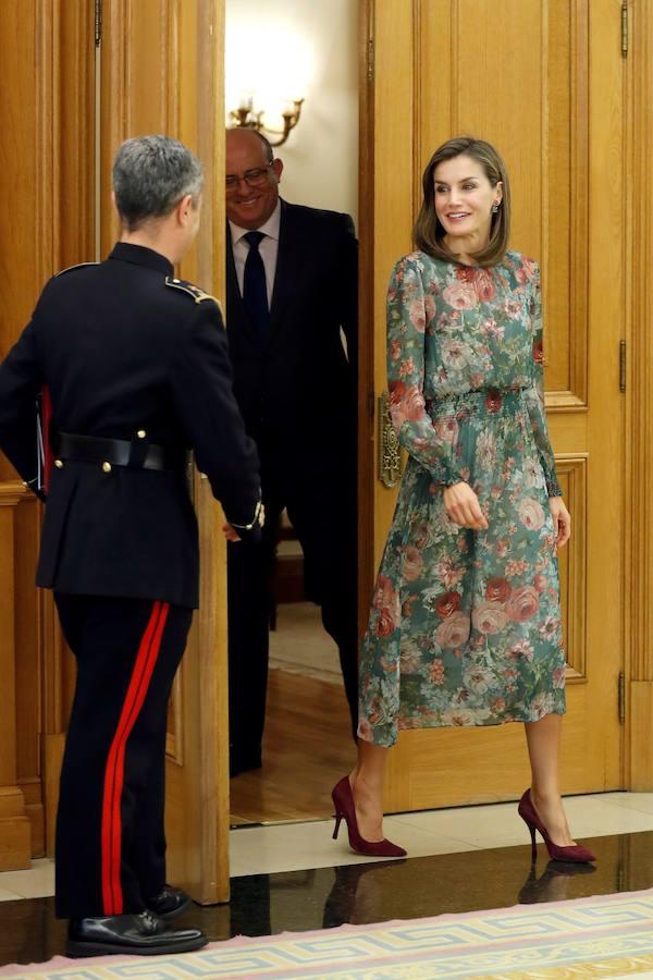 El vestido de Zara de la Reina Letizia causa sensación