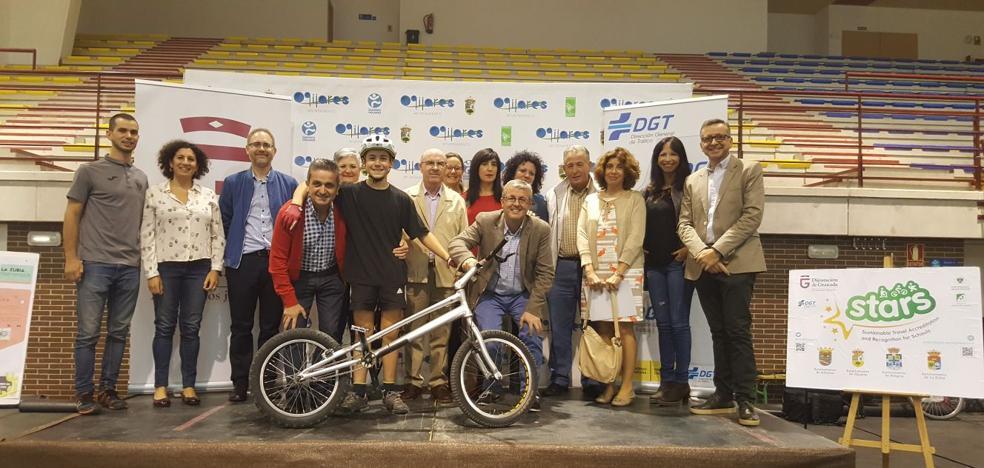 Diputación promueve el uso de la bicicleta en cuatro institutos de la provincia de Granada con el proyecto Stars