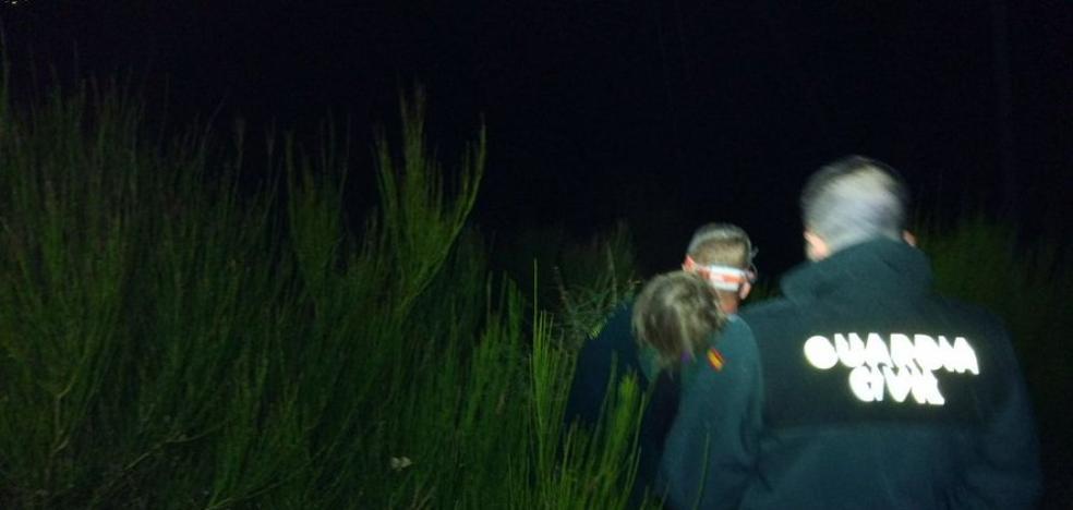 Hallan arropada por su perro a una niña de 2 años tras nueve horas desaparecida en Ávila