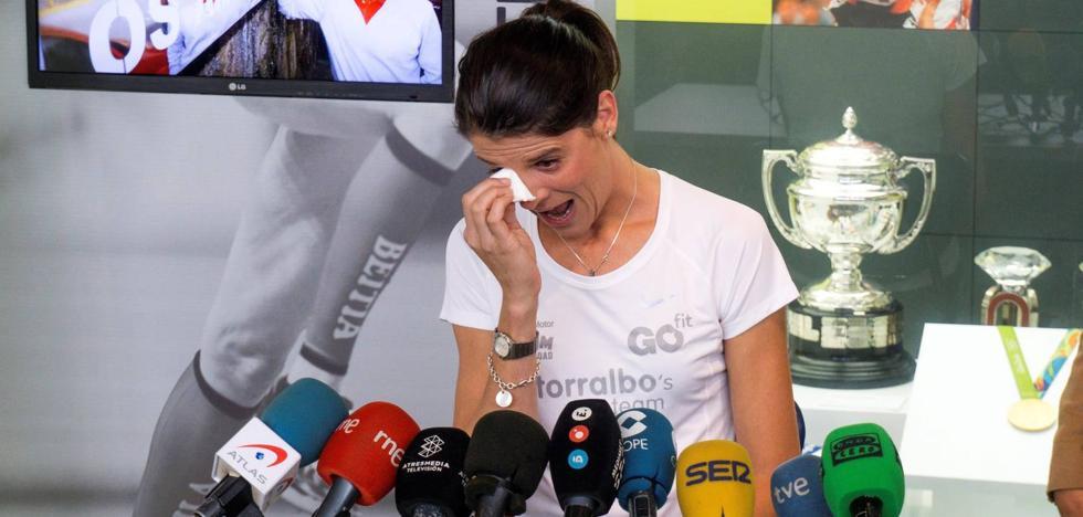 Ruth Beitia cuelga los clavos y pasa de atleta a leyenda