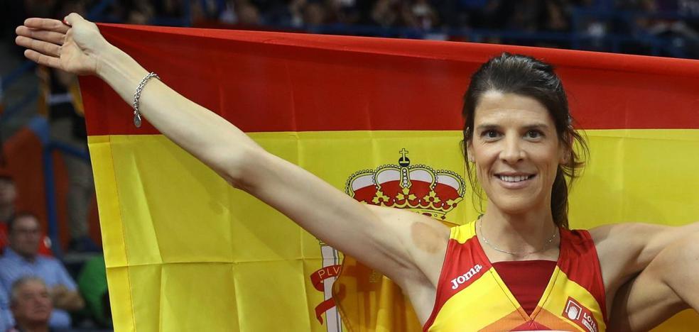 Ruth Beitia anuncia su retirada de la competición