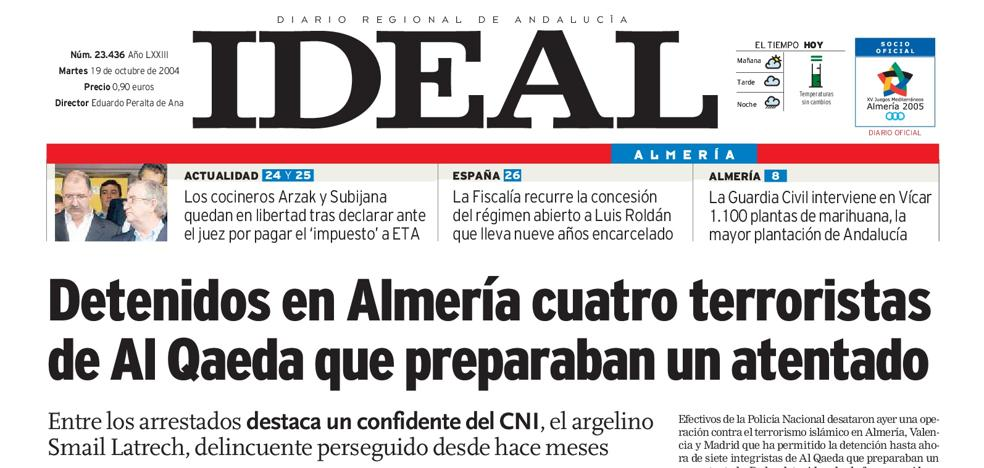 Detenidos en Almería cuatro terroristas de Al Qaeda que preparaban un atentado