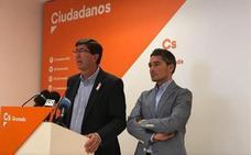"""Marín afirma que la moción de censura en Granada """"no tiene ningún sentido"""" y niega """"luchas internas"""" en Ciudadanos"""