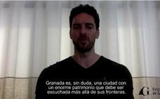 Pau Gasol se vuelca con el Festival de Música y Danza de Granada