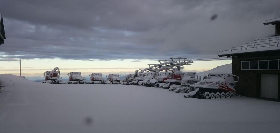 Cielos progresivamente despejados en Sierra Nevada tras las precipitaciones intermitentes de la madrugada