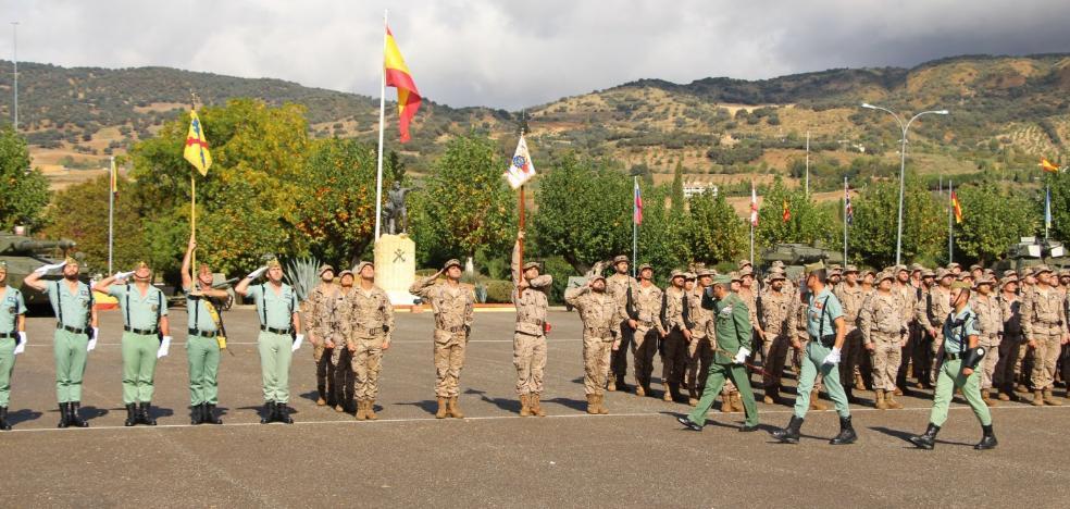 Despedida en Montejaque de los 120 legionarios con misión en Malí