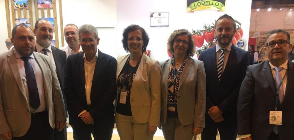 El delegado de Economía habla de «buenos» resultados de Almería en Fruit Attraction