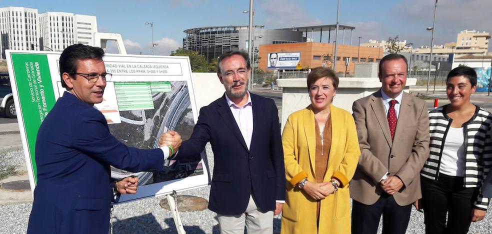La Junta construirá en marzo un acceso a la Variante Sur desde la rotonda del hospital del PTS
