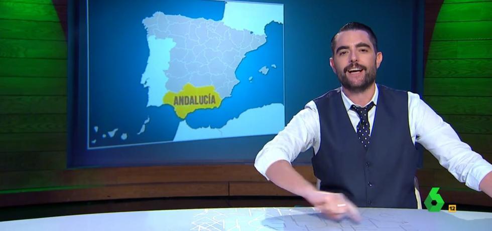 'El Intermedio' se ríe de la 'independencia de Andalucía' y 'los países andaluces'