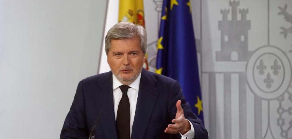 Méndez de Vigo ve «prematuro» hablar de la fecha de las elecciones catalanas