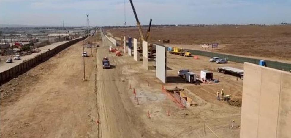 Estos son los ocho prototipos del muro de México