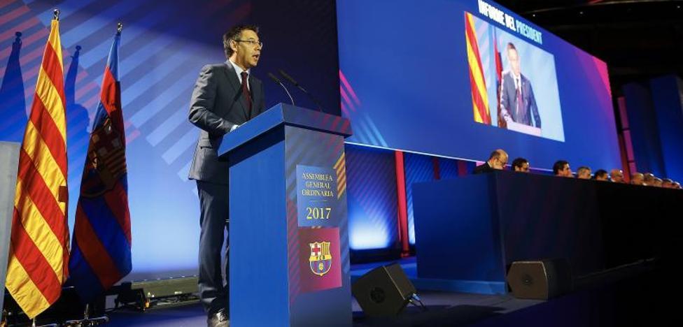 El Barça y Bartomeu, entre la espada y la pared