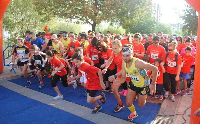 2.000 personas participan en Granada en la Carrera por la Infancia