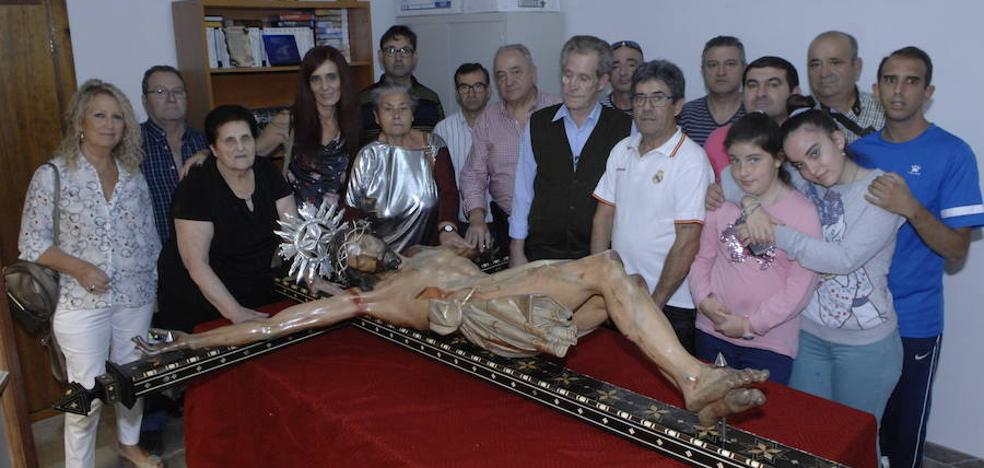 La imagen del patrón de la Alpujarra, el Santísimo Cristo de la Expiración de Órgiva, será restaurada por Dionisio Olgoso Moreno