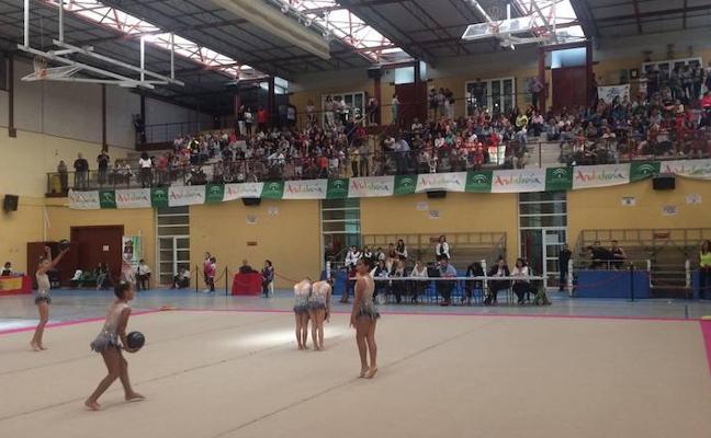 Más de 300 deportistas andaluzas participan en el III Trofeo de Otoño de Rítmica de Las Gabias
