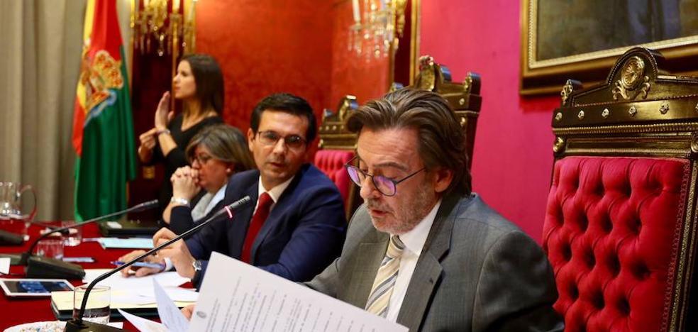 El PSOE logra aprobar el plan de ajuste del Ayuntamiento de Granada con apoyo del PP