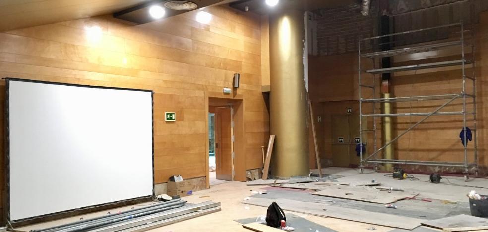 Las obras vuelven al Palacio de Congresos a dos días de la gran convención médica