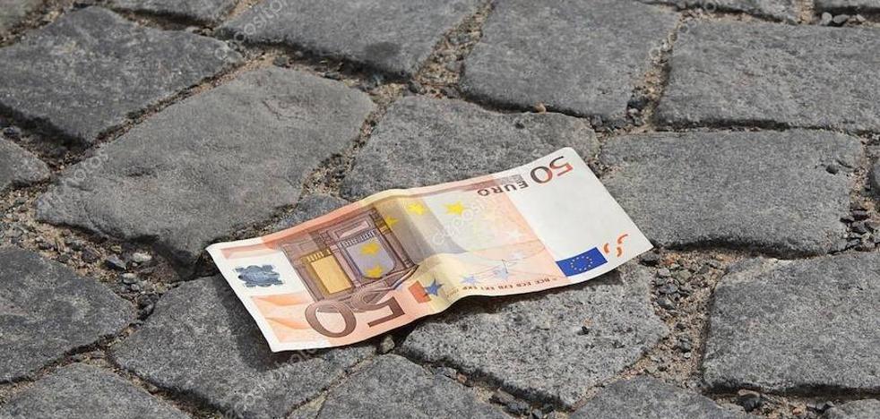 Buscan en La Puerta al propietario de 600 euros
