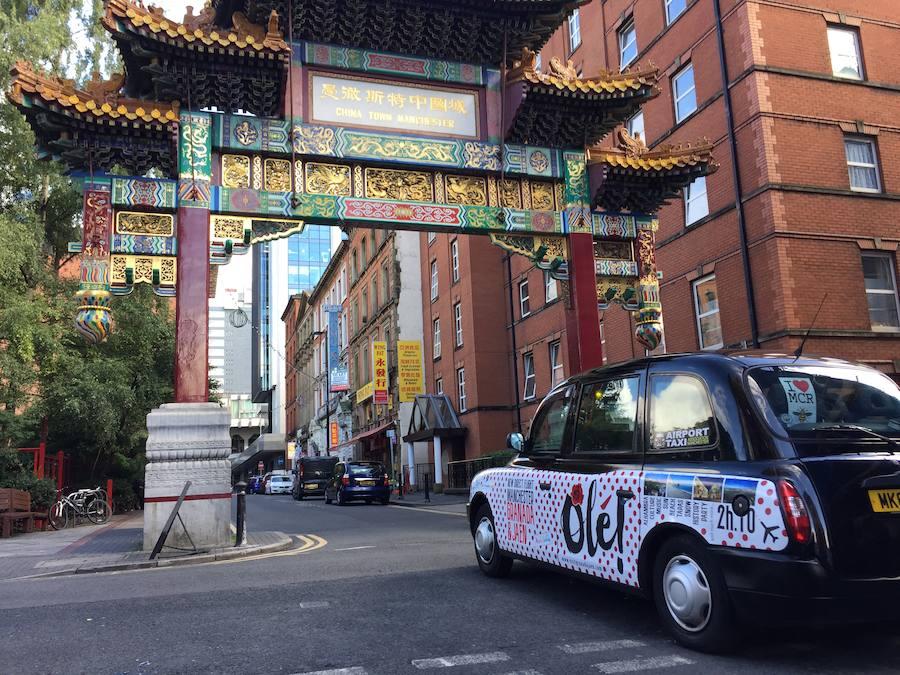 Manchester se llena de taxis 'made in Granada'
