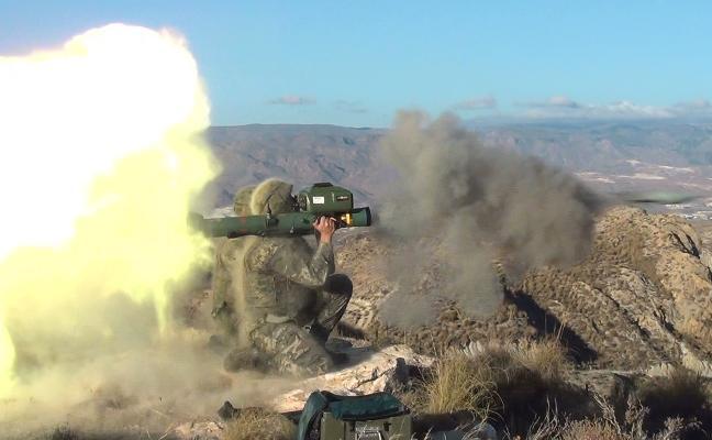 Unidades de Melilla se entrenan en 'Álvarez de Sotomayor'