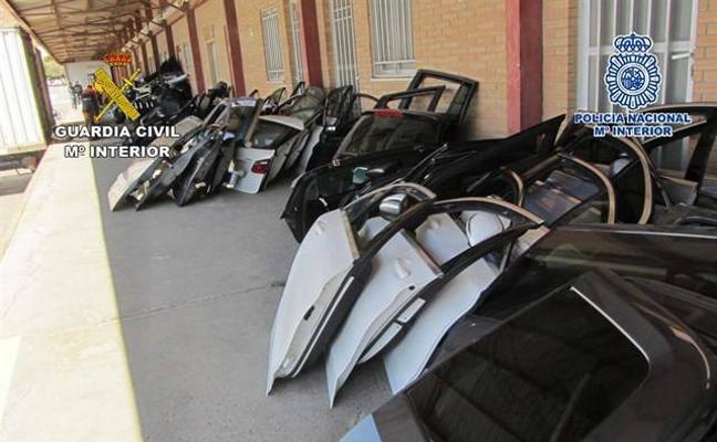 Cae una red que robaba coches de alta gama para venderlos en Marruecos