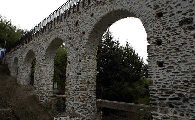 El acueducto romano de Ugíjar