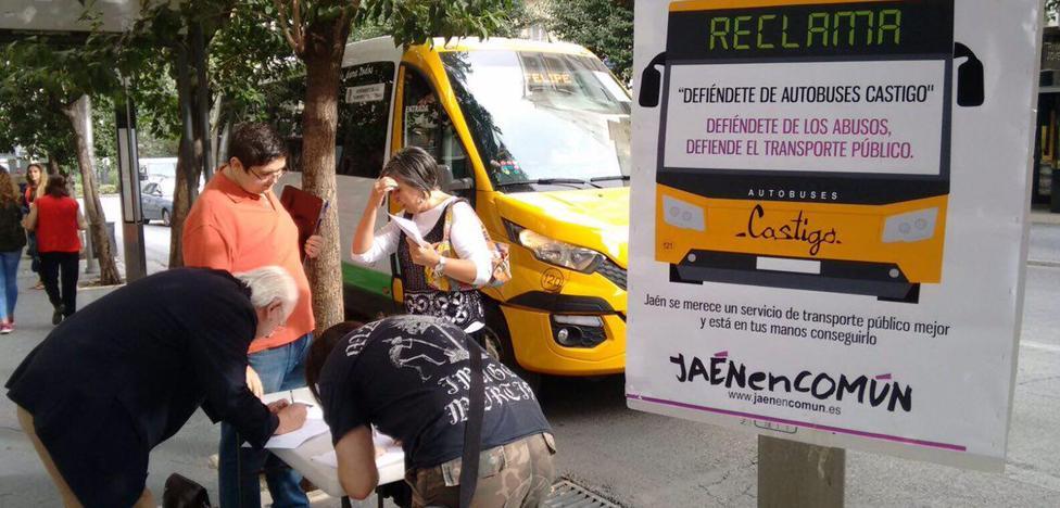 JeC pide que Castillo deje el servicio de autobuses en Jaén