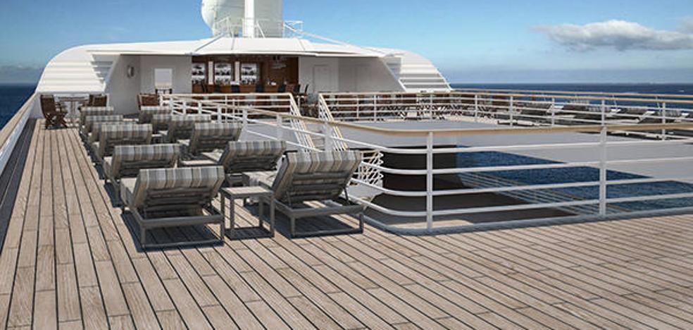 Nuevo crucero en el puerto de Almería, el lunes