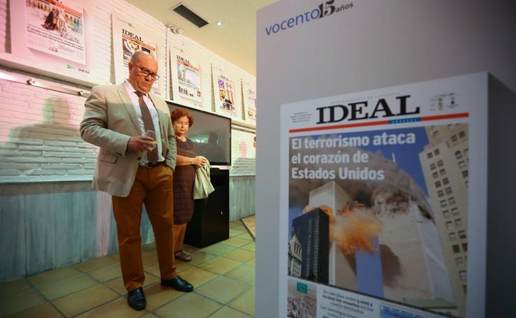 Una exposición recupera las portadas más destacadas de IDEAL en los últimos 30 años