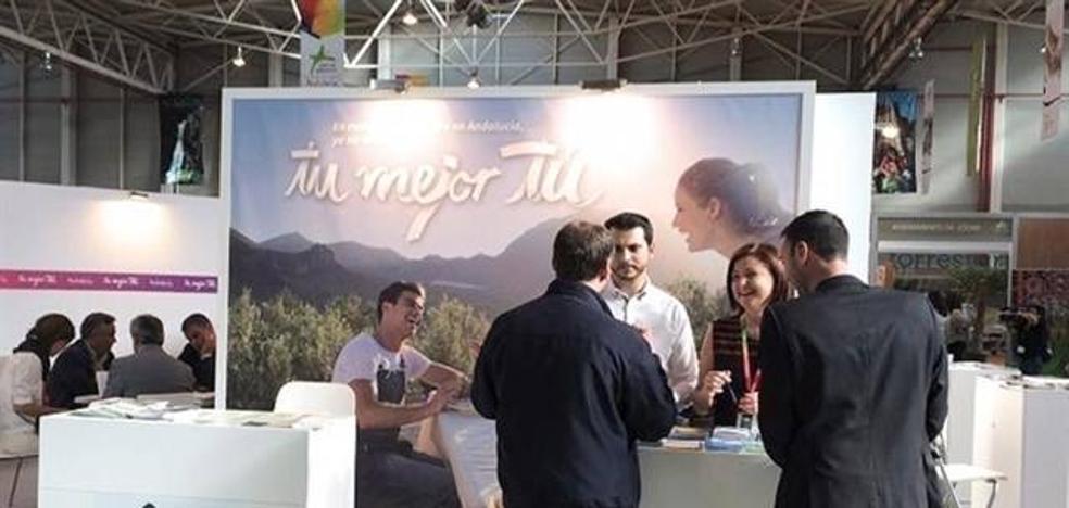El interior del destino 'Costa de Almería' se promociona en la Feria 'Tierra Adentro' de Jaén