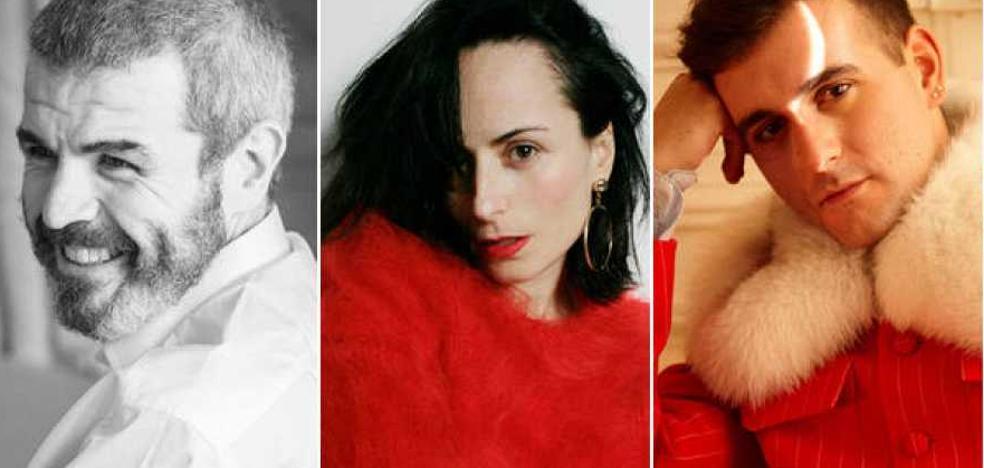 Lorenzo Caprile, María Escoté y Palomo Spain, jurado de 'Maestros de la Costura'