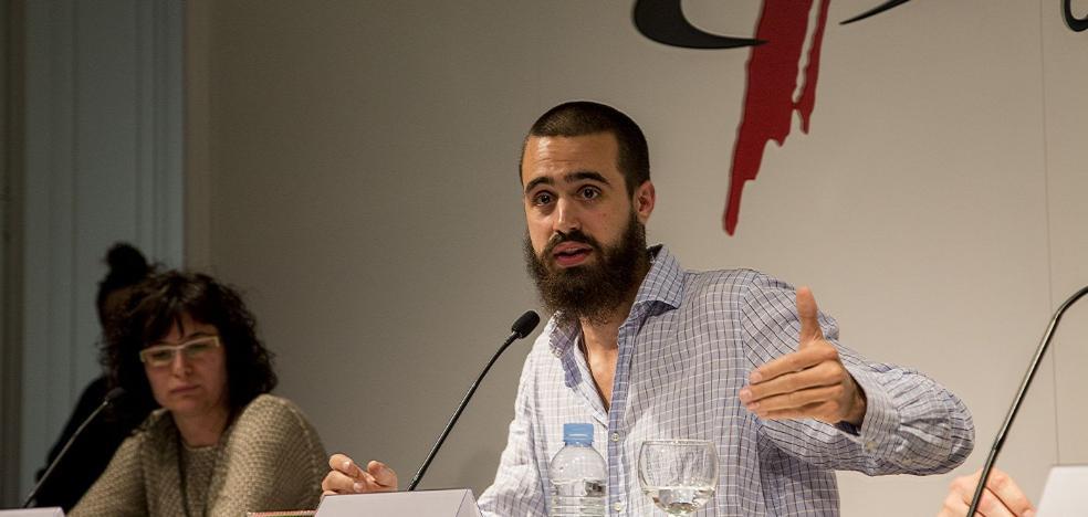 Jaume Vives, el 'líder' de una ofensiva de humor contra la independencia, hoy en la Escuela de Padres