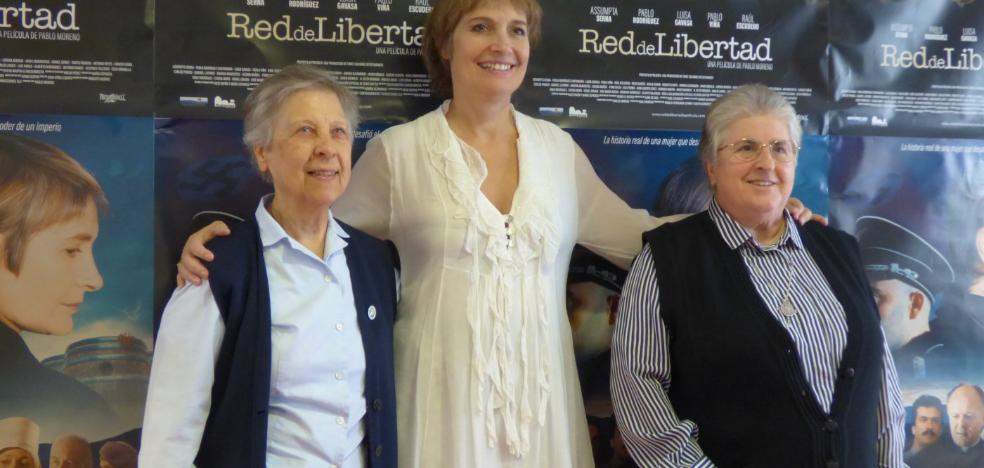 Assumpta Serna presenta en Bailén su película sobre la 'Schindler católica'
