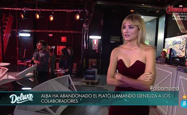 """Alba Carrillo la lía en 'Sálvame Deluxe': """"¡Gentuza!"""""""