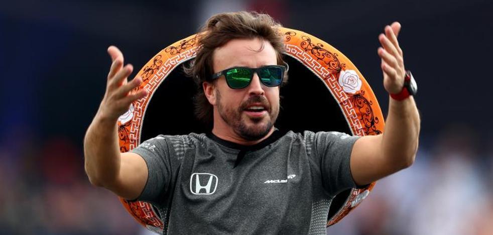 Alonso: «Ha sido bonito luchar con Lewis»