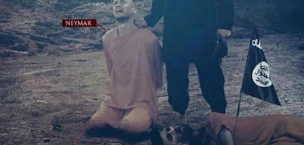 Daesh amenaza a Messi y Neymar