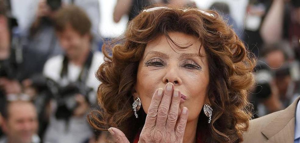 Sophia Loren volverá a Almería para recibir el premio de su festival de cine