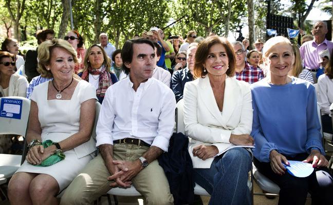 Los secretos de la fiesta del 40 aniversario de los Aznar
