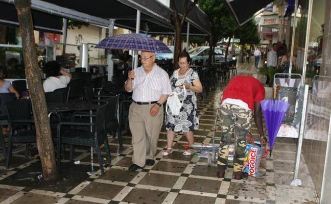 La lluvia visitará Jaén en cinco días