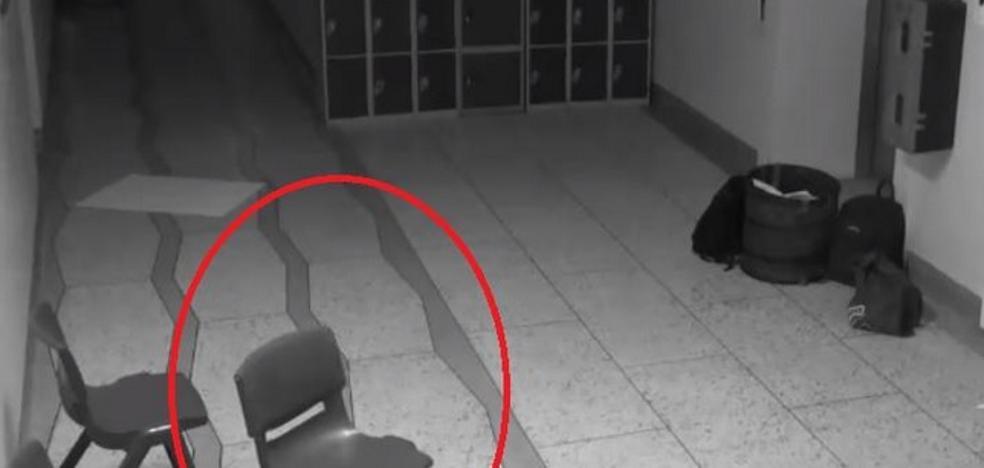 El fantasma que pone de los nervios a este colegio