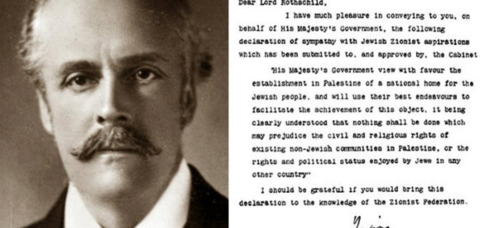 La carta de tres párrafos que desató una guerra que lleva cien años activa