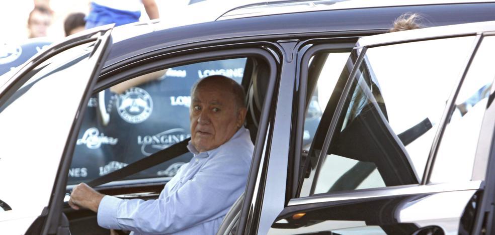 Amancio Ortega, su hija Sandra y Juan Roig, las tres mayores fortunas de España