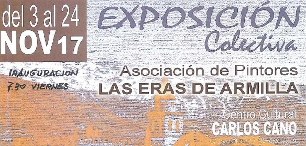 21 artistas de la Asociación de Pintores 'Las Eras de Armilla' exponen en La Zubia
