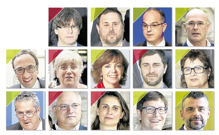 Los 14 investigados por la juez Lamela