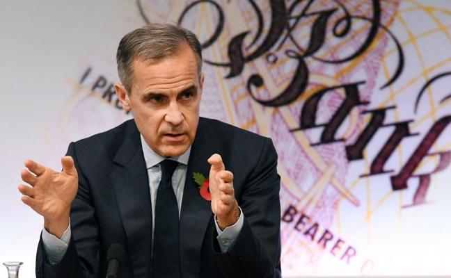 El Banco de Inglaterra sube los tipos de interés por primera vez en una década